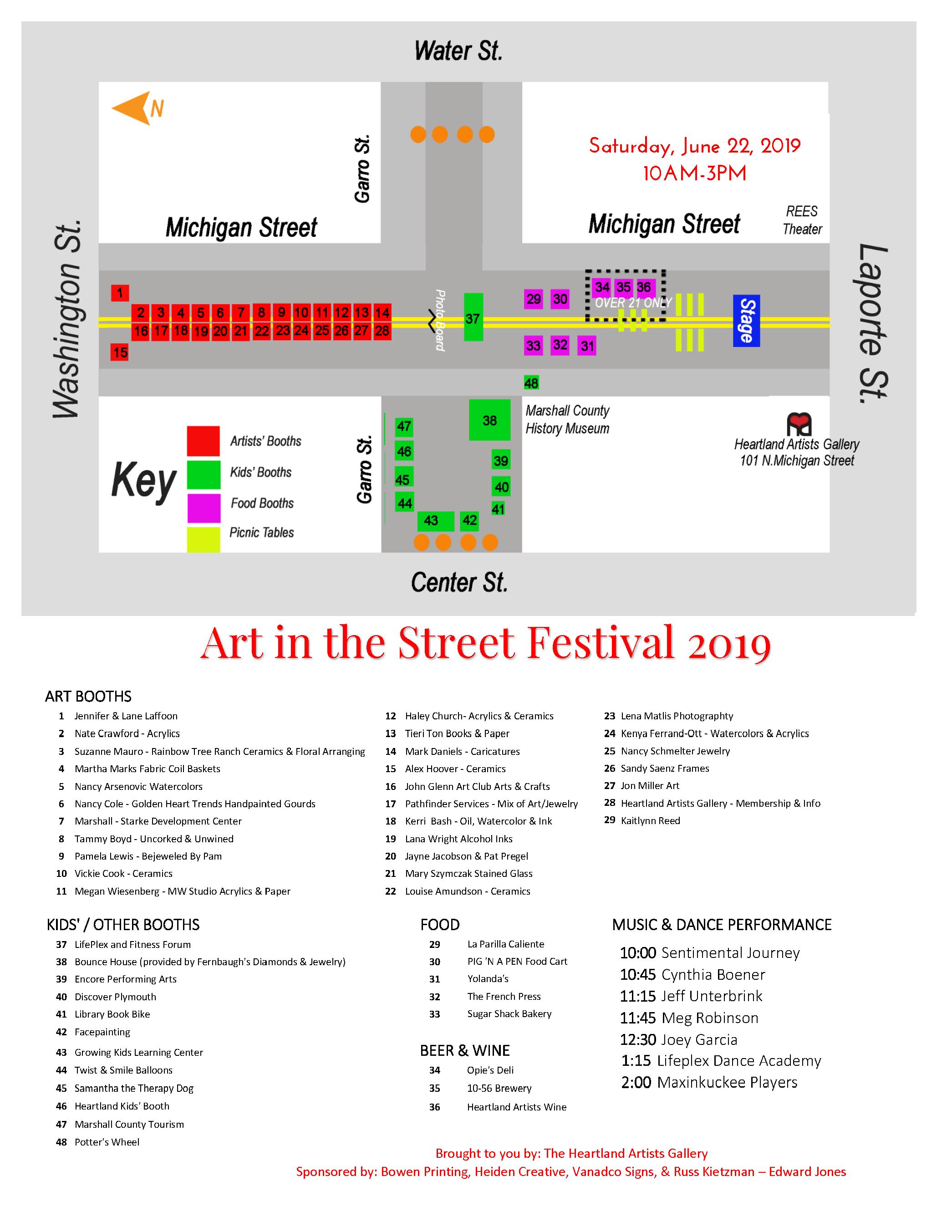 Art in the Street 2019 – Heartland Artists Gallery